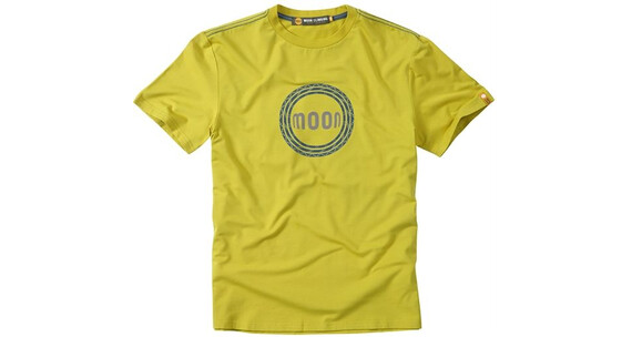 Moon Climbing Rope Logo Tee Antique Moss